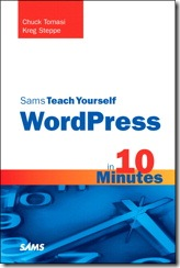 Sams Teach Yourself WordPress in 10 Minutes Cover