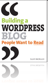 Building a WordPress Blog book cover