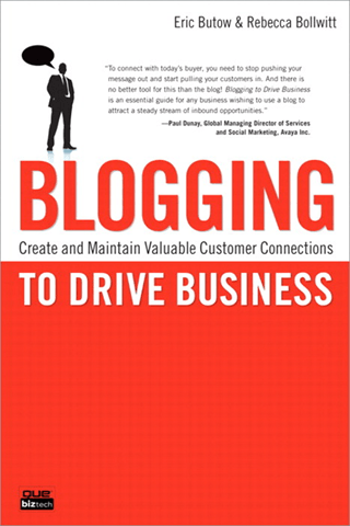 Blogging to Drive Business Book Cover