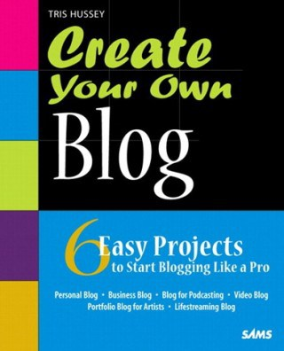 book cover: create your own blog