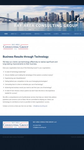 Bay Area Consulting Group Home Page