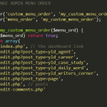screenshot of the new menu order function in SublimeText