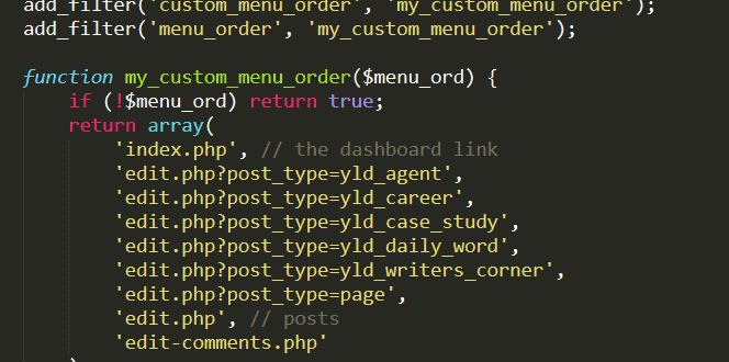 Help! My Custom Post Type Disappeared from the Admin Menu!