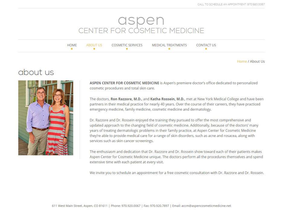 Aspen Center for Cosmetic Medicine