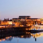 Downtown Sacramento seen from the Sacramento River