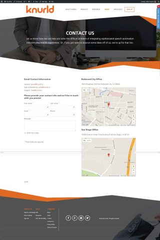 Contact Page (Contact Page Template)