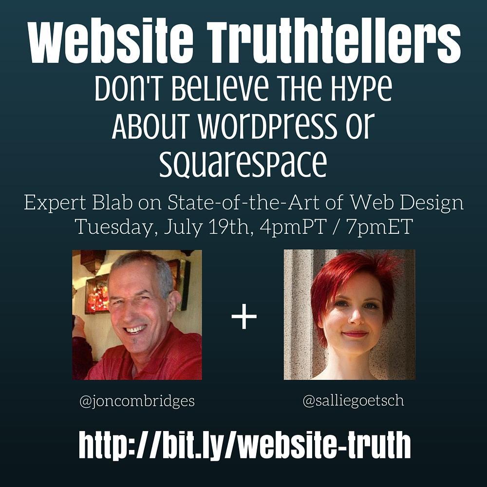Website Truthtellers image