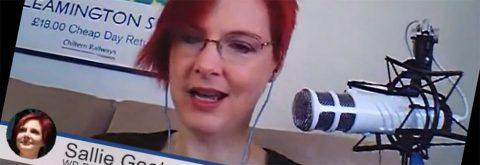 Sallie Goetsch speaking with John Locke and Jonathan Denwood via Google Hangout